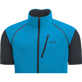 GORE WEAR C3 Windstopper Phantom Zip-Off Jacket Herre dynamic cyan/black